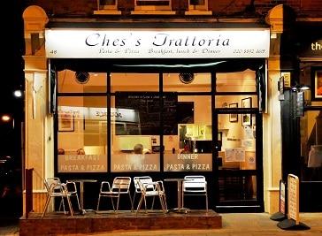 Ches's Trattoria Restaurant in Twickenham