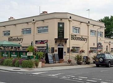 The Bloomsbury Pub in Twickenham