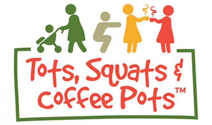 "Wednesday, 31 October, 2018 - 10:45 to 11:45 Description: Tots, Squats and Coffee Pots is an immensely fun but challenging fitness class where Mums (and the odd Dad and Grandparent) can bring their baby or toddler of any age along with them. At Tots, we emphasise the social aspect of group fitness and the nights out, the picnics, the workshops, the coffees and the play dates are just as popular as the classes themselves. THIS IS SO MUCH MORE THAN A FITNESS CLASS. We provide challenges, home workout ideas, realistic ways to eat well and easy (often sugar free) recipes to try. At Tots, we can help you get your body back in shape, get stronger and fitter and safely rebuild the core and pelvic floor muscles and work you through progressions suitable for the stage you are at. All of this plus you are guaranteed to meet a lovely bunch of people that are in the same boat and make friends. We cater for all levels and abilities no matter where you are at in your pregnancy or post-natal journey. Kelly and her instructors have specialist training in exercise for pregnancy and the post-natal period and will provide safe and suitable exercises in varied class formats that promise to be fun. The first class is FREE so check out the website for details on www.vivacityuk.co.uk under the classes section or call Kelly on 07852155966 or email at kelly@vivacityuk.co.uk if you have any questions. Check us out on facebook and Instagram too where you can contact us or look at recipes, photos, videos and reviews. Come along and see for yourself and become part of the strong community presence that is Tots, Squats and Coffee Pots, which people genuinely love being a part of. ""Meet other Mums, make chums and tone your tums all at the same time!"" Kelly x Location: The Exchange 75 London Road Twickenham TW1 1BE United Kingdom"